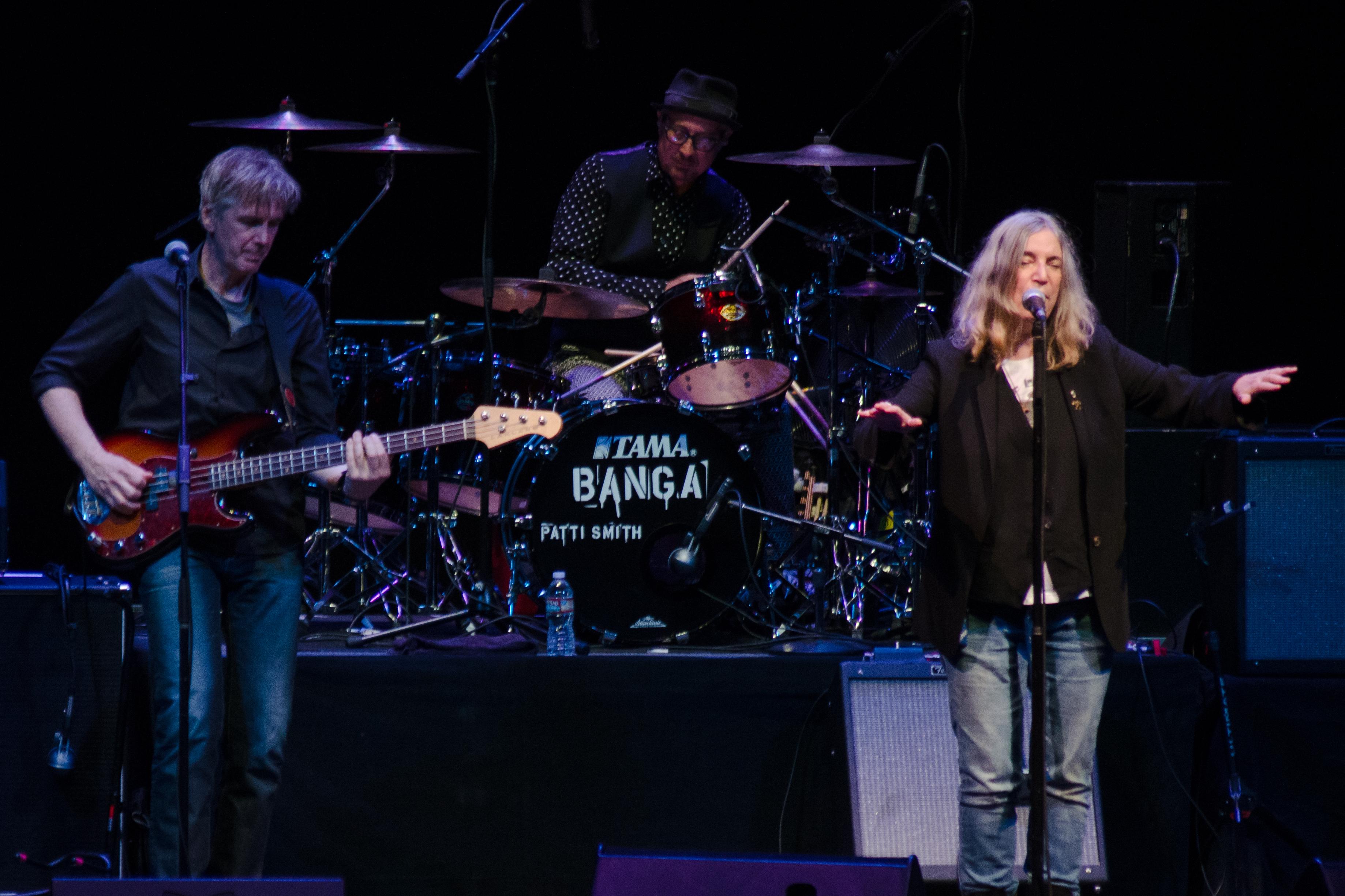 Patti Smith Plays Explosive Show at the Granada